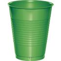 Citrus Green Plastic Beverage Cups - 16 oz