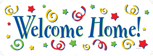 Welcome Home Giant Party Banners