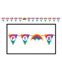 Rainbow Pennant Banners