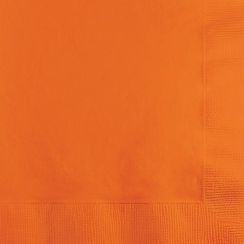 Sunkissed Orange Beverage Napkins - 1800 Count