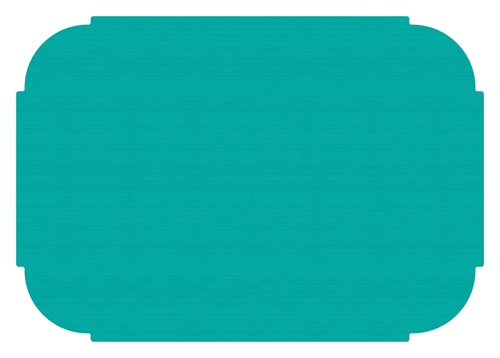 Teal Paper Placemats