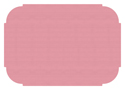 Dusty Rose Paper Placemats