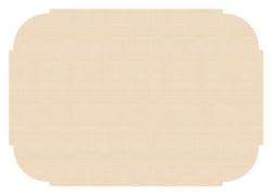 Beige Paper Placemats