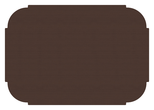 Chocolate Brown Paper Placemats