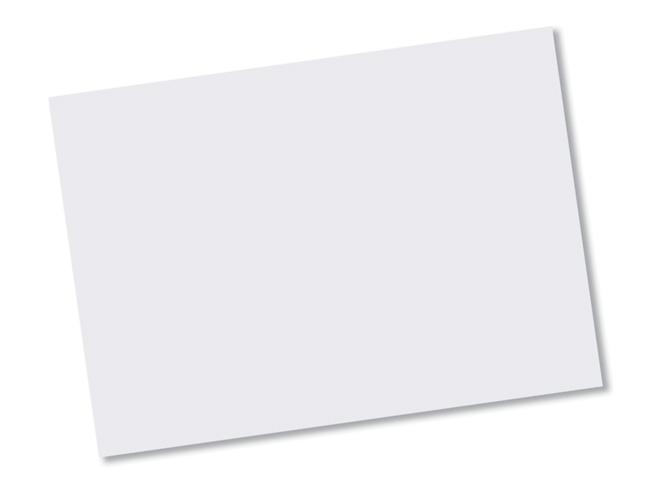 White Homespun Paper Placemats -  Large