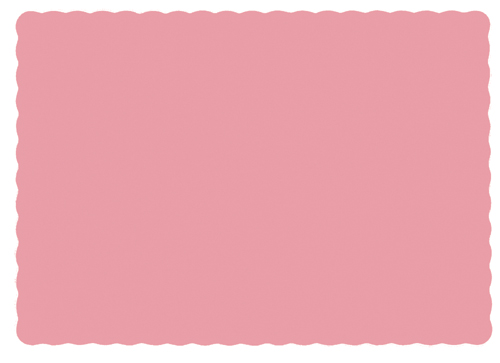 Dusty Rose Recycled Paper Placemats