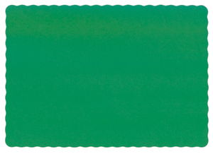 Jade Green Recycled Paper Placemats