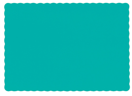 Teal Recycled Paper Placemats