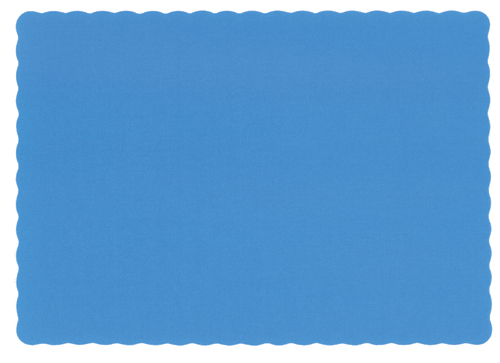 Marina Blue Recycled Paper Placemats