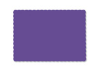 Purple Recycled Paper Placemats