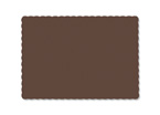 Chocolate Brown Recycled Paper Placemats
