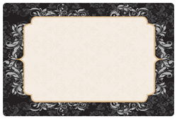 "Elegance Paper Placemats - 10"" x 15"""