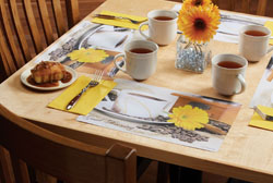 Good Morning Paper Placemats