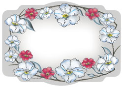 Wild Flowers Paper Placemats