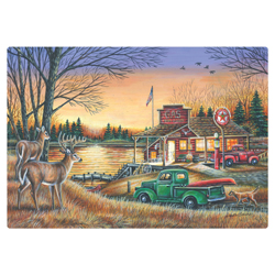 Country Evening Paper Placemats