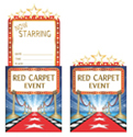 Hollywood Pop-Up Party Invitations