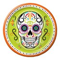 Day of the Dead Paper Luncheon Plates