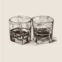 Bourbon  Beverage Napkins