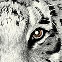 Tiger Eye Beverage Napkins
