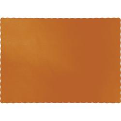 Pumpkin Spice Paper Placemats - 600 Count