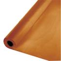 Pumpkin Spice Plastic Table Cover Rolls