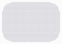 White Paper Placemats - Plain