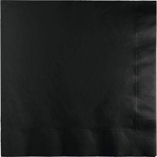 Black Luncheon Napkins - 1800 Count