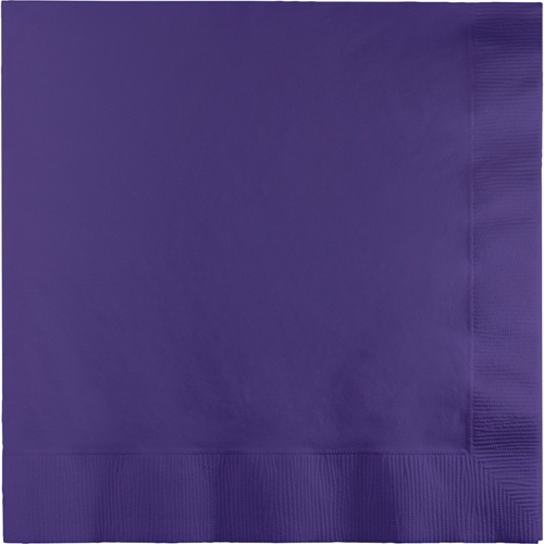 Purple Luncheon Napkins - 1800 Count