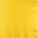 School Bus Yellow Luncheon Napkins - 1800 Count
