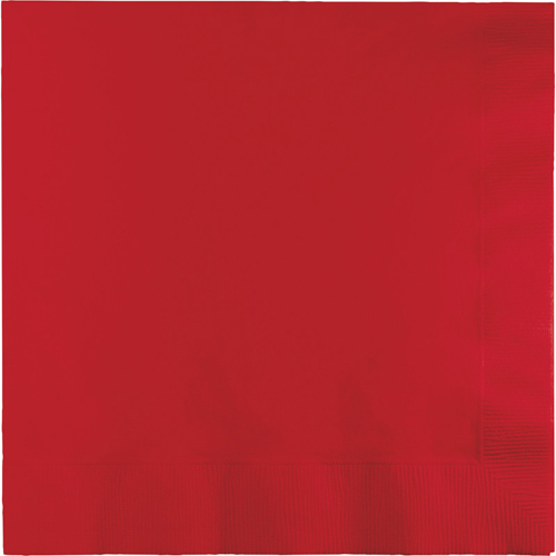 Classic Red Luncheon Napkins - 900 Count