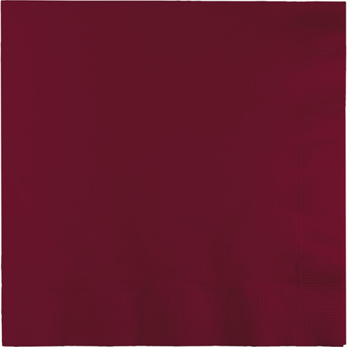 Burgundy Luncheon Napkins - 900 Count