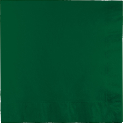 Hunter Green Luncheon Napkins - 900 Count