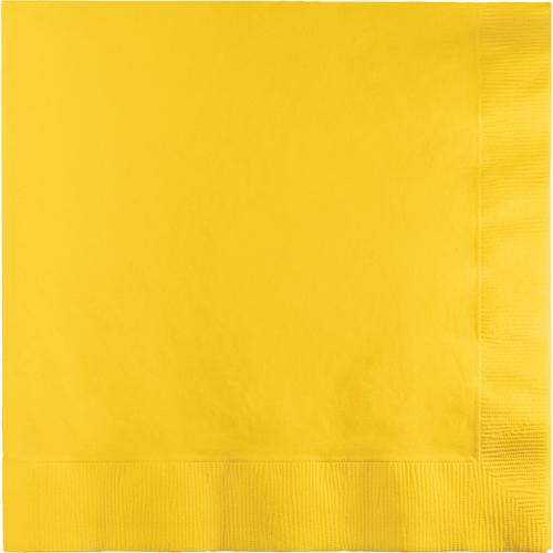 School Bus Yellow Luncheon Napkins - 900 Count