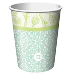 Yellow Roses Paper Beverage Cups