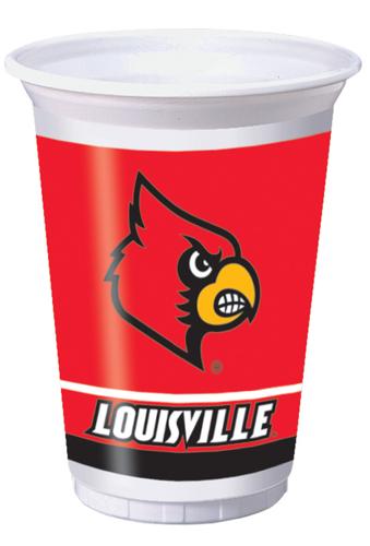 University of Louisville Plastic Beverage Cups