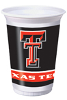 Texas Tech Plastic Beverage Cups