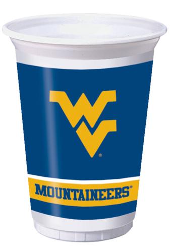 University of West Virginia Plastic Beverage Cups