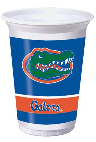 University of Florida Plastic Beverage Cups