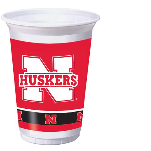 University of Nebraska Plastic Beverage Cups
