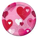 Loving Hearts Dessert Plates