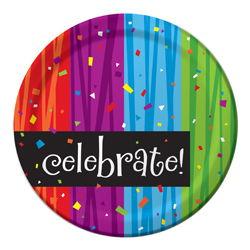 Celebrations Paper Dessert Plates