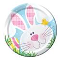 Easter Bunny Paper Dessert Plates