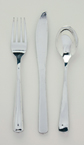 Metallic Plastic Cutlery - Assorted