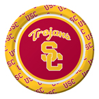USC Trojans Paper Dessert Plates