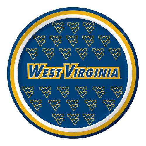 University of West Virginia Paper Dessert Plates