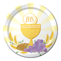 Communion Paper Luncheon Plates