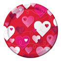 Loving Hearts Luncheon Plates