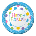 Happy Easter Paper Luncheon Plates
