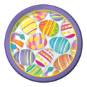 Easter Eggs Paper Luncheon Plates