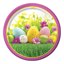 Easter Garden Paper Luncheon Plates